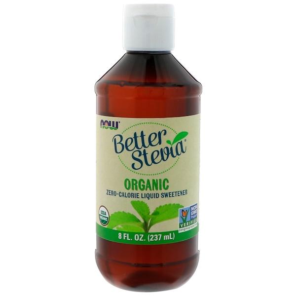 Better Stevia, органический жидкий бескалорийный подсластитель, 237 мл (8 жидких унций)