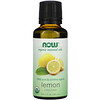 Now Foods, Органические эфирные масла, лимон, 30 мл (1 жидкая унция)