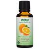 Now Foods, Органические эфирные масла, апельсин, 30 мл (1 жидкая унция)
