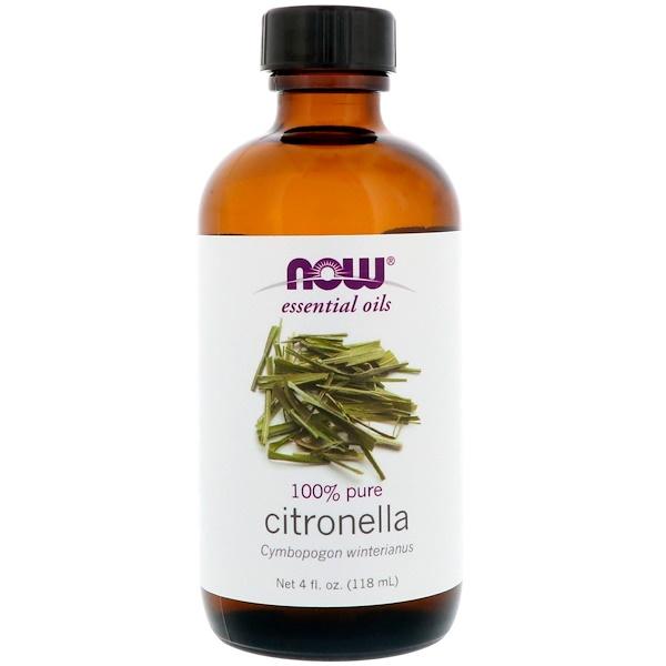 эфирное масло цитронеллы, 118 мл (4 жидких унции)
