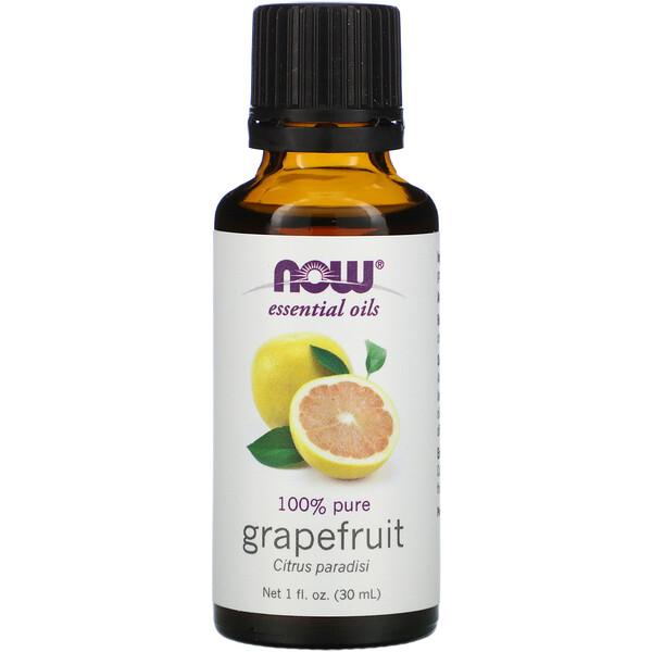 Эфирные масла, грейпфрут, 1 жидкая унция (30 мл)