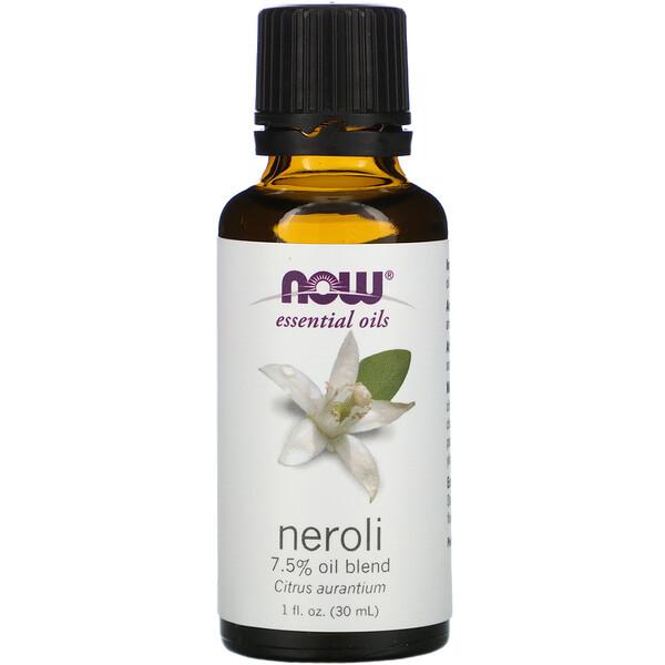 Эфирные масла, нероли, 30 мл (1 жидкая унция)