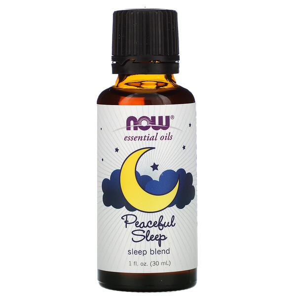 Essential Oils, Peaceful Sleep, 1 fl oz (30 ml)