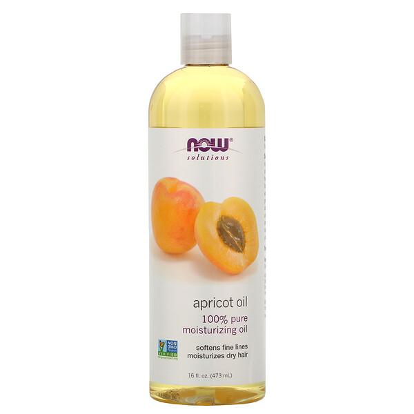 Solutions, Apricot Oil, 16 жидких унций (473 мл)