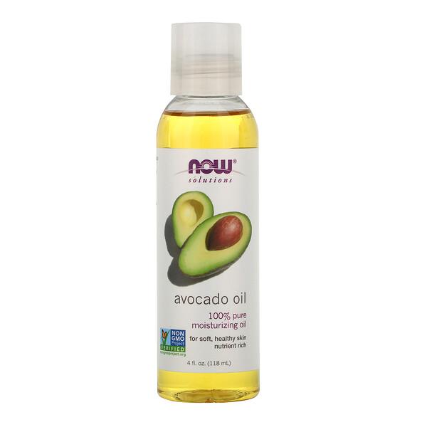 Now Foods, Решения, масло авокадо, 118мл