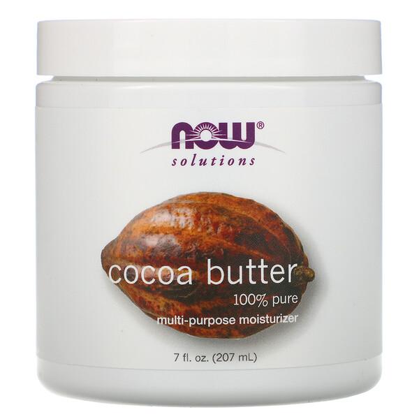 Solutions, какао-масло, 207 мл (7 жидких унций)