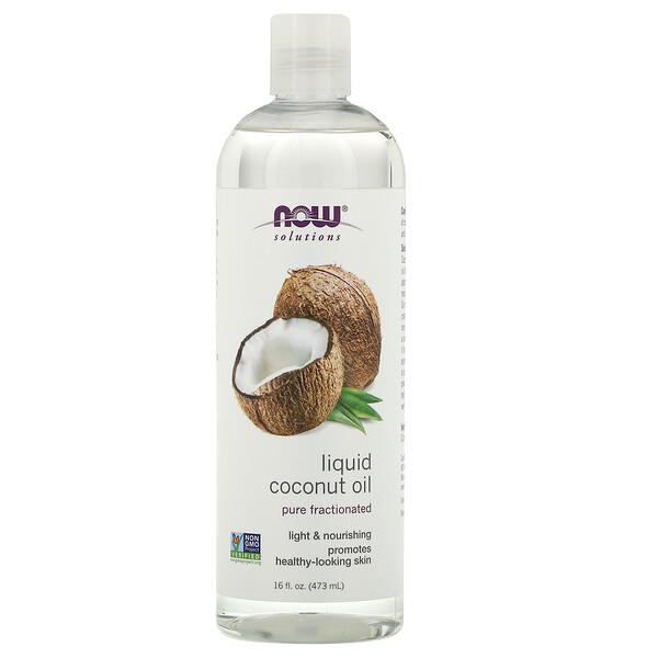 Жидкое кокосовое масло, чистое ректифицированное, 473 мл