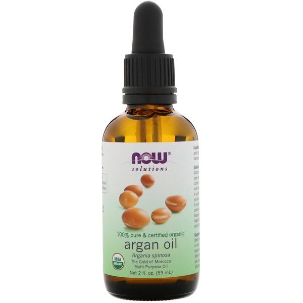 Органическое аргановое масло, 2 ж. унц. (59 мл)