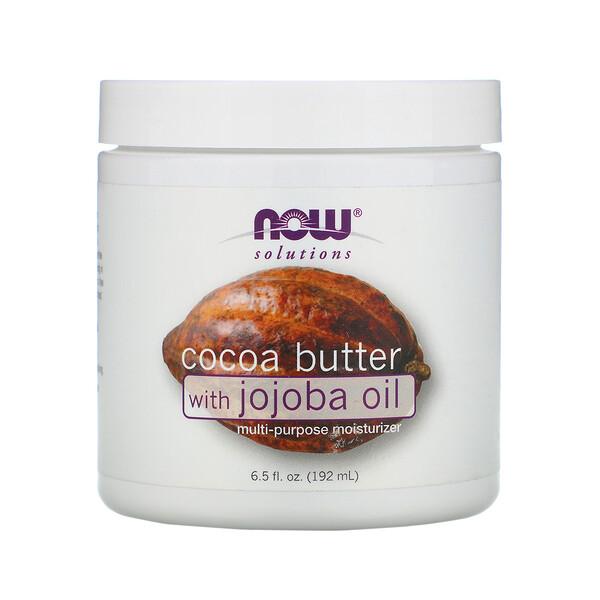 Solutions, какао-масло с маслом жожобы, 192 мл (6,5 жидких унций)