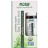 Now Foods, Органическое масло чайного дерева с шариковым аппликатором, 10мл (1/3жидк.унции)