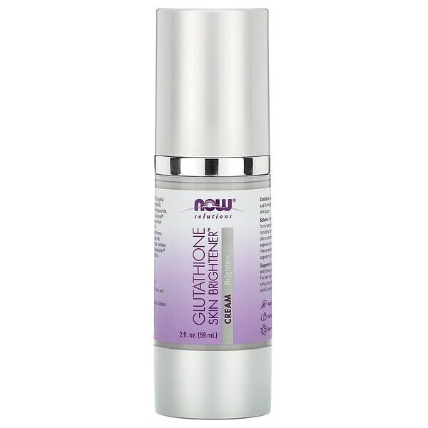 Solutions, Glutathione Skin Brightener, 2 fl oz (59 ml)