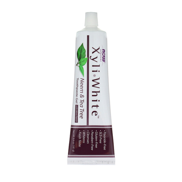Solutions, XyliWhite, зубной гель, ним и чайное дерево, 181 г (6,4 унции)
