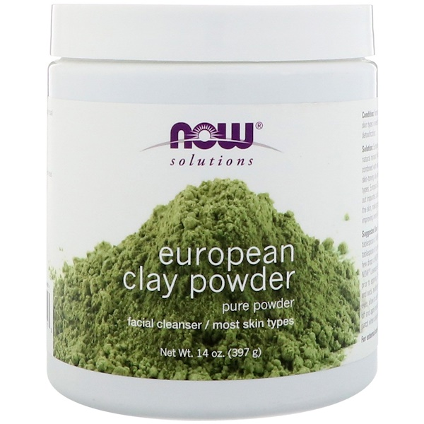 Solutions, European Clay Powder, 397 г (14 унций)