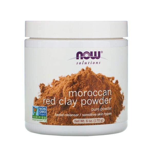 Решения, марокканская красная глина в порошке, 170г