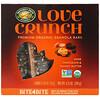 Nature's Path, Love Crunch, органические батончики с гранолой премиального качества, черный шоколад и арахисовая паста, 6 батончиков, 30 г (1,06 унции) каждый