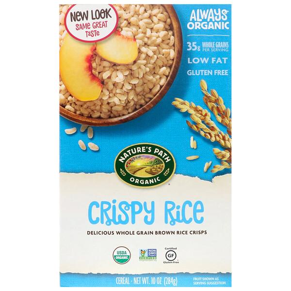 Органическая рисовая каша, 10 унций (284 г)