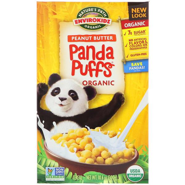 EnviroKidz, Хлопья Panda с органическим арахисовым маслом, 10,6 унций (300 г)