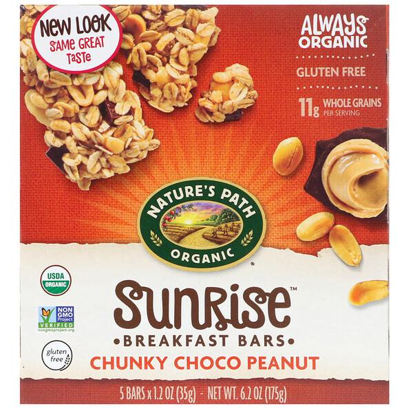 Выбор без глютена, батончики мюсли с шоколадным арахисовым маслом, 5 шт., 1.2 унций (35 г) /шт.