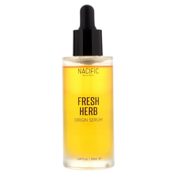Nacific, FreshHerb Origin Serum, 1.69 fl oz (50 ml) (Discontinued Item)