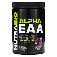 NutraBio Labs, Alpha EAA, Grape Berry Crush, .98 lb (444 g)