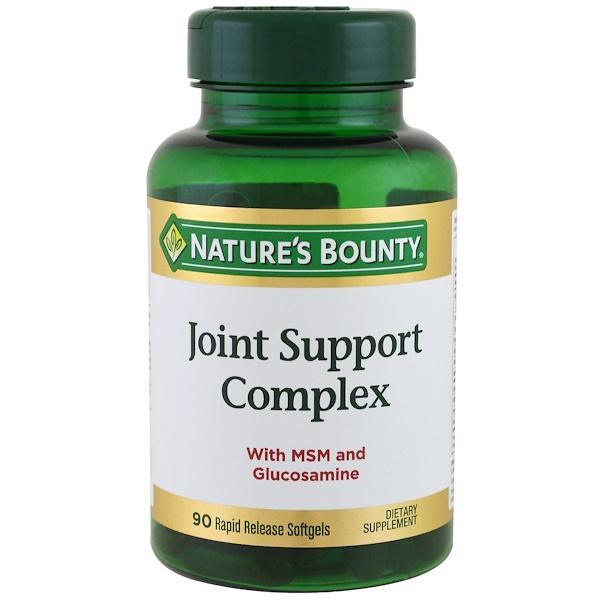 Nature's Bounty, Комплекс для поддержки суставов, 90 быстро усваиваемых желатиновых капсул (Discontinued Item)