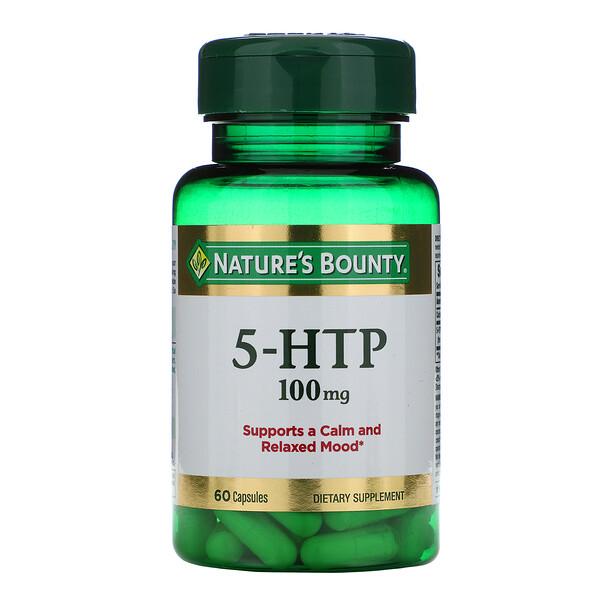 5-гидрокситриптофан, 100 мг, 60 капсул