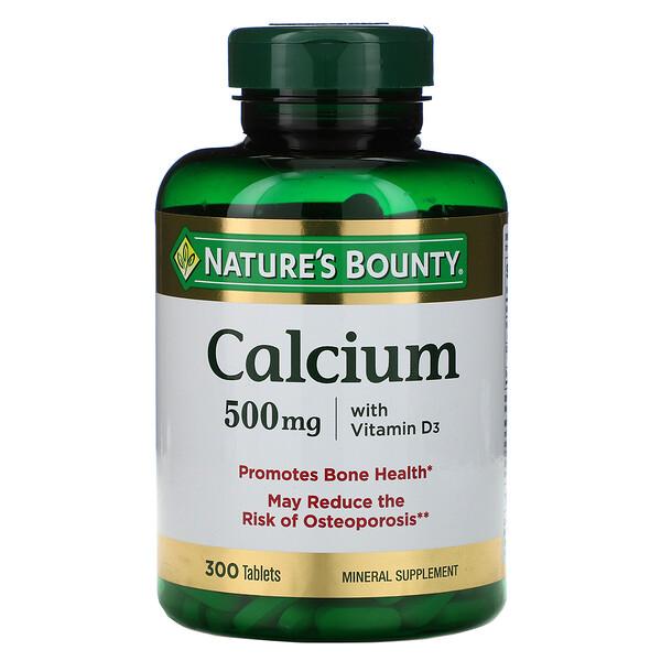 Nature's Bounty, Кальций с витамином D3, 300 таблеток