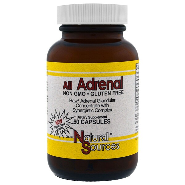 Natural Sources, All Adrenal, 60 капсул