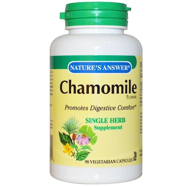 Chamomile, 650 mg, 90 Vegetarian Capsules