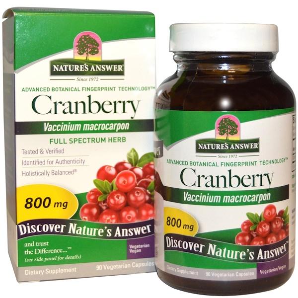 Cranberry, 800 mg, 90 Vegetarian Capsules