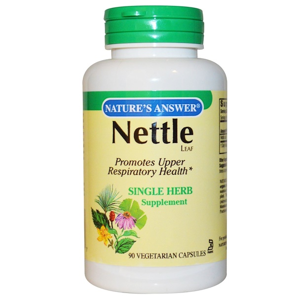 Nature's Answer, Nettle , 900 mg, 90 Vegetarian Capsules (Discontinued Item)