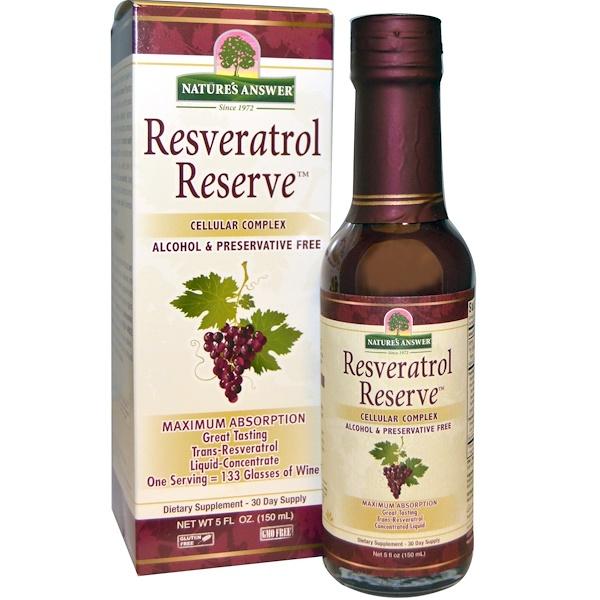 Resveratrol Reserve, клеточный комплекс, 150 мл (5 жидких унций)