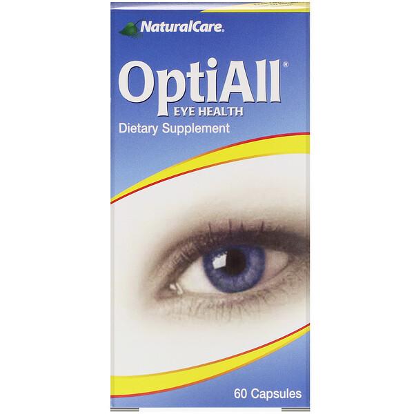 OptiAll здоровье глаз, 60 капсул