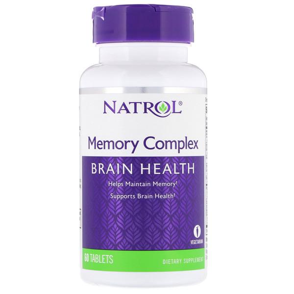 Комплекс для поддержки памяти, 60 таблеток