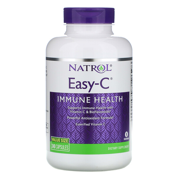 Natrol, Easy-C, 240 капсул