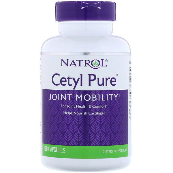Natrol, Cetyl Pure, 120 капсул (Discontinued Item)