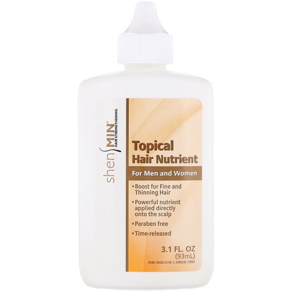 Natrol, Shen Min, Питательное средство наружного применения для волос, для мужчин и женщин, 3.1 жидких унций (93 мл) (Discontinued Item)