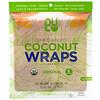 NUCO, Органические кокосовые роллы, оригинальные, 5 роллов по 14 г