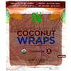 NUCO, Органические кокосовые лепешки, корица, 5шт. (14г) каждая