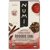 Numi Tea, Organic Herbal Teasan, Rooibos Chai, Caffeine Free, 18 Tea Bags, 1.71 oz (48.6 g)