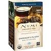 Numi Tea, Органический чай, Императорский Пуэр, 16 чайных пакетиков, 1,13 унц. (32 г)
