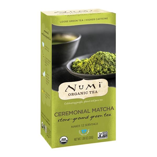 Органический церемониальный зеленый чай, 1,06 унции (30 г)