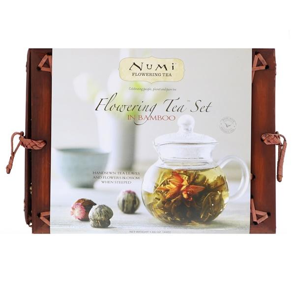 Набор Flowering Tea в бамбуке, 1 чайный набор