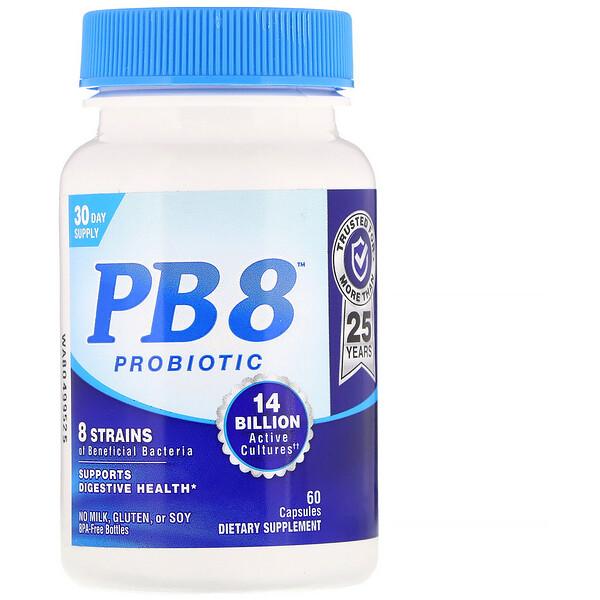 PB 8, Probiotic, 60 Capsules