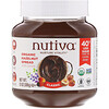 Nutiva, органическая паста с фундуком, классический вкус, 369 г (13 унций)