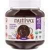 Nutiva, Органический арахисовый спред, темный, 13 унции(369 г)