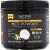 Nutiva, Органические среднецепочечные триглицериды (MCT) в виде порошка, со вкусом ванили, 300г