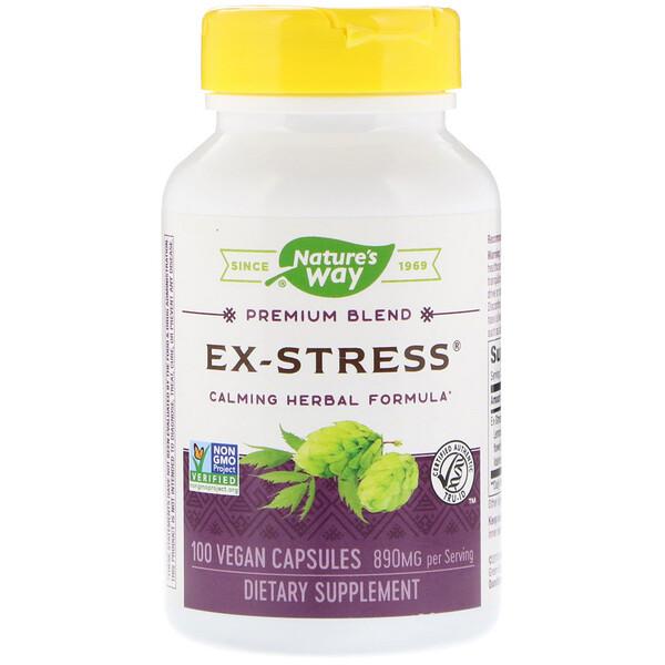 Успокаивающее средство «Стресс в прошлом», 445 мг, 100 растительных капсул