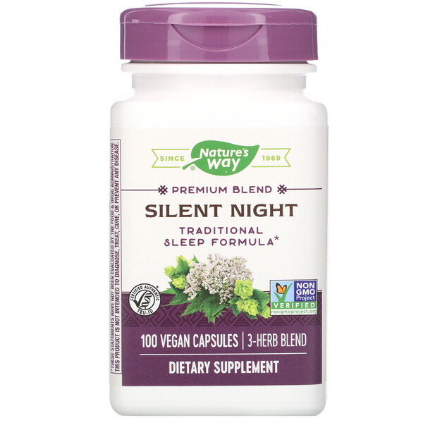 Silent Night, 100 Vegan Capsules