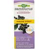 Натурес Вэй, Sambucus для детей, стандартизированный экстракт бузины, оригинальный сироп, 120мл (4жидкихунций)